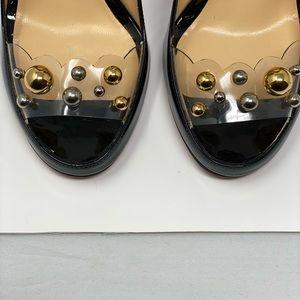 Christian Louboutin Shoes - Christian Louboutin Decollete Nera Vern/ PVC Heels
